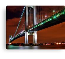 Verrazano Bridge Canvas Print