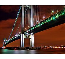 Verrazano Bridge Photographic Print