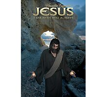 Jesus - I am with you always Photographic Print