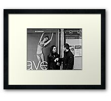 For your Information Darling, you are not number 2, you will alway be my number 1 ! Framed Print
