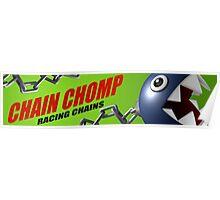 Mario Kart 8 Chain Chomp Poster