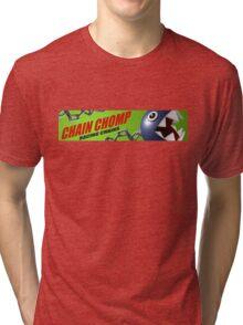Mario Kart 8 Chain Chomp Tri-blend T-Shirt