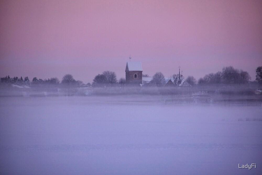 Floating church by LadyFi