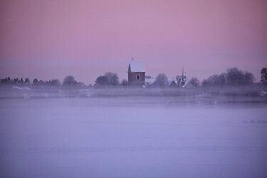 Floating church by LadyFi