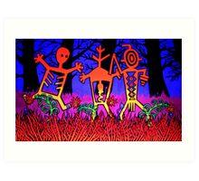 Shamanic Trio Art Print
