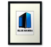 Upcoming Build - Blue Mamba Framed Print