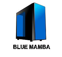 Upcoming Build - Blue Mamba Photographic Print