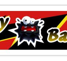 Mario Kart 8 Fuzzy Battery Sticker