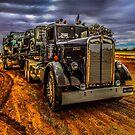 Truck Kenworth 1946 by Julia Harwood
