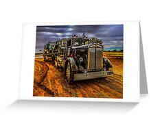 Truck Kenworth 1946 Greeting Card