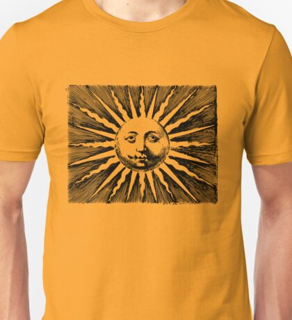 Here comes the sun. Unisex T-Shirt