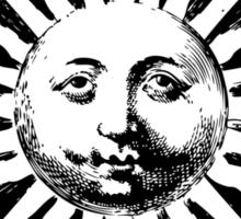 Here comes the sun. Sticker