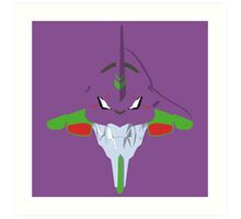 Evangelion Minimalistic Design Art Print