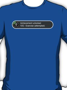 XBox Achievements - Exercise(Attempted) T-Shirt