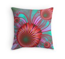 Lovely And Red Throw Pillow