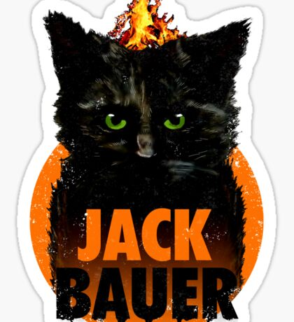 The Indestructible Jack Bauer Sticker