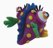 Plasticine monster Baby Tee