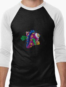 Plasticine monster Men's Baseball ¾ T-Shirt