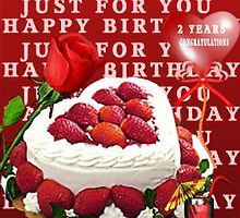 ✾◕‿◕✾ HAPPY BIRTHDAY JUST FOR U  GROUP (DEDICATIONS) ✾◕‿◕✾ by ╰⊰✿ℒᵒᶹᵉ Bonita✿⊱╮ Lalonde✿⊱╮