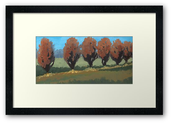 Orange Trees by sivieriart