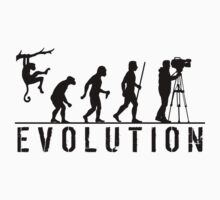 Cameraman Evolution by movieshirtguy