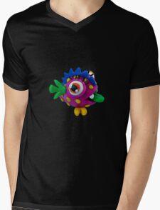 Plasticine monster Mens V-Neck T-Shirt