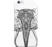 Decorated Elephant iPhone Case/Skin
