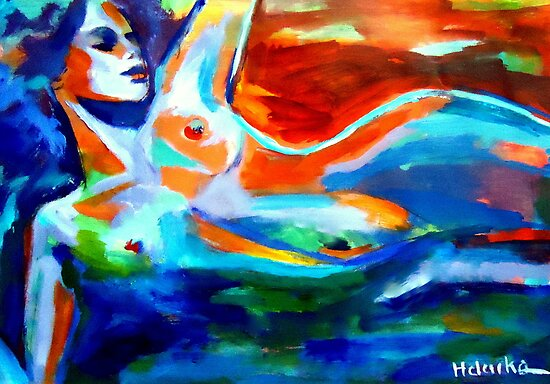 """The sea of life"" by Helenka"