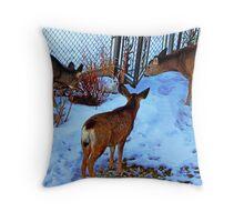 Peaceful Wildlife Throw Pillow