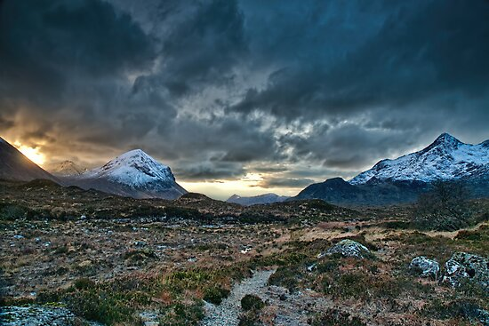 Cuillin Dawn by Fraser Ross