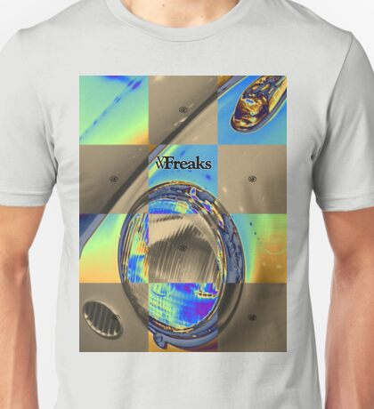Das VW-Freaks Foiled Beetle Unisex T-Shirt