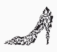 Stiletto with different shoe silhouettes by beakraus