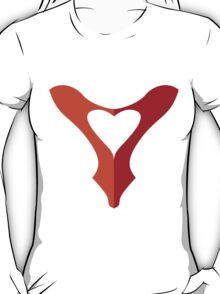 shoe love, red shoe heart T-Shirt