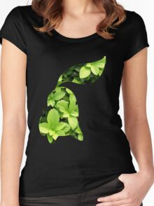 Chikorita used Razor Leaf Women's Fitted Scoop T-Shirt