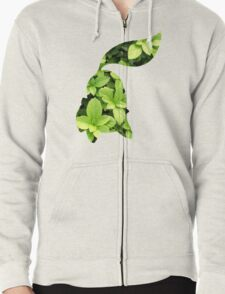 Chikorita used Razor Leaf Zipped Hoodie