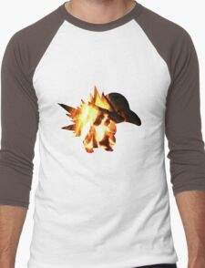 Cyndaquil used Ember Men's Baseball ¾ T-Shirt