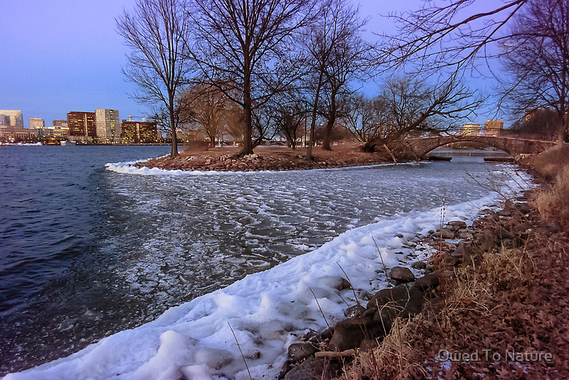 Esplanade's Frozen Shallow by Owed to Nature