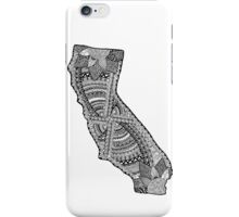 Graphic States- Cali (full) iPhone Case/Skin