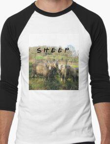 Sheep T-Shirt Men's Baseball ¾ T-Shirt