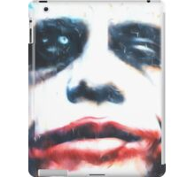 Why So Serious? (GO1) iPad Case/Skin