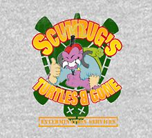 Scumbug's Turtles B gone Extermination Services (distressed)  T-Shirt
