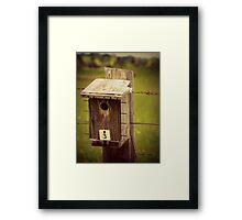Bird house #3 Framed Print