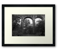 """ Forgotten Structure "" Framed Print"