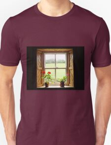 Still Life with Geraniums Unisex T-Shirt