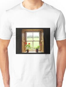 Still Life with Geraniums Unisex T-Shirt