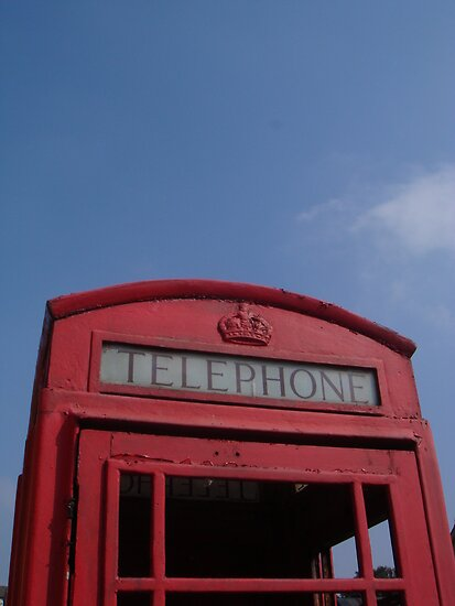 Telephone box by elsiebarge