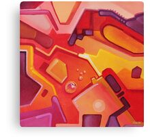 Plasticon - Abstract Acrylic Canvas Painting Canvas Print
