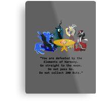 Villains at Play Metal Print