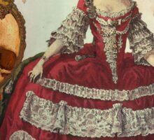 Marie-Antoinette's Nightmare Sticker