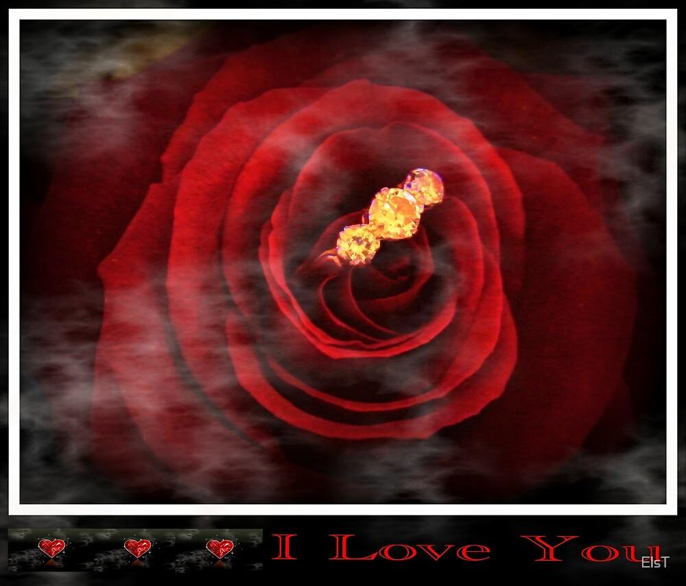 Valentine rose challenge by ElsT